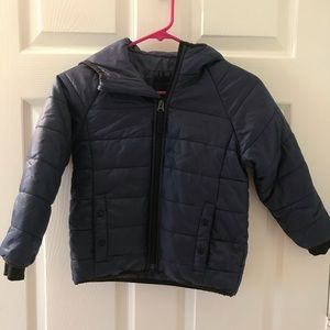 Gap Kids Primaloft Blue Puffer Jacket Winter Coat